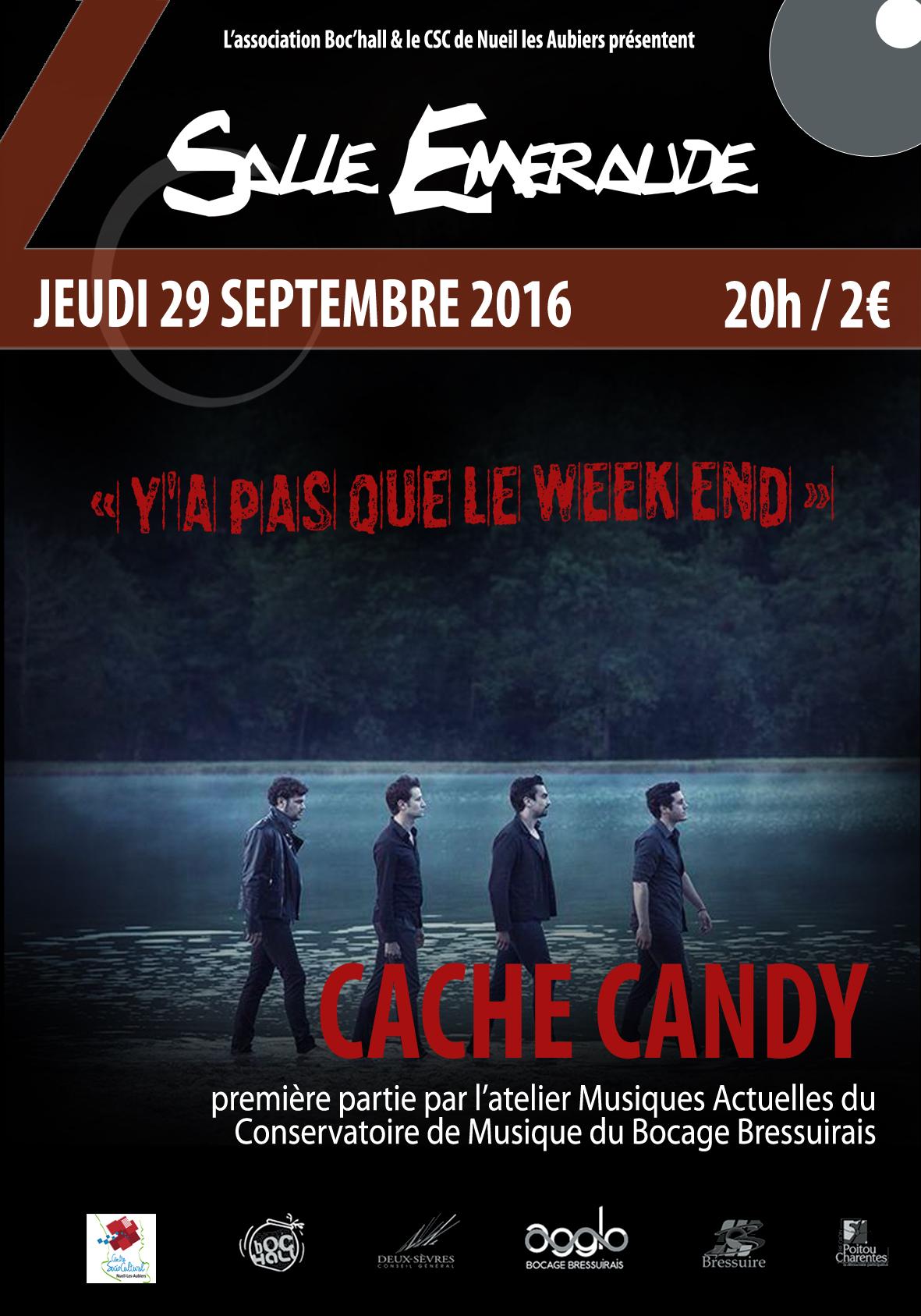 affiche Cache Candy web